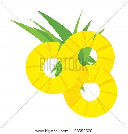 Pineapple Slice Vector