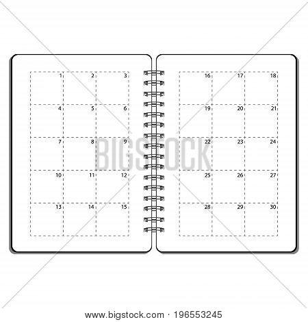 Open Planner Vector