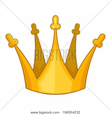 Son of king crown icon. Cartoon illustration of son of king crown vector icon for web design