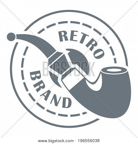 Retro brand logo. Simple illustration of retro brand vector logo for web design