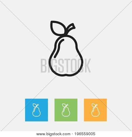 Vector Illustration Of Kitchenware Symbol On Duchess Outline