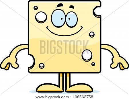 Happy Cartoon Swiss Cheese