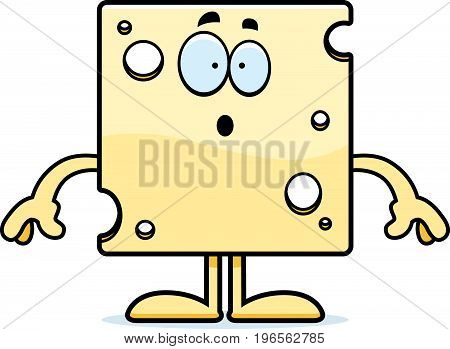 Surprised Cartoon Swiss Cheese