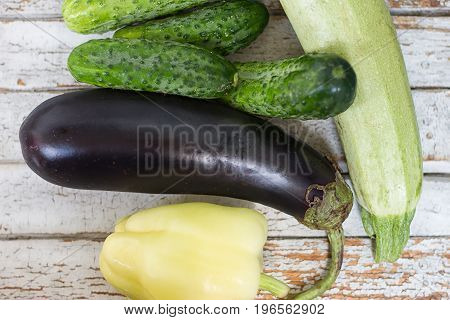 the close up of assorted fresh vegetables
