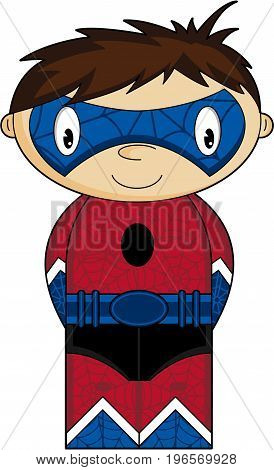 Web Boy Super Hero
