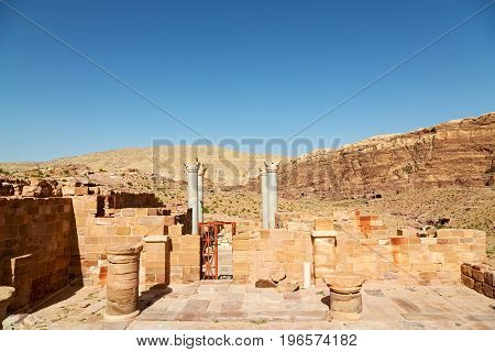 The View Of The Monuments From  Ruins Of  Church
