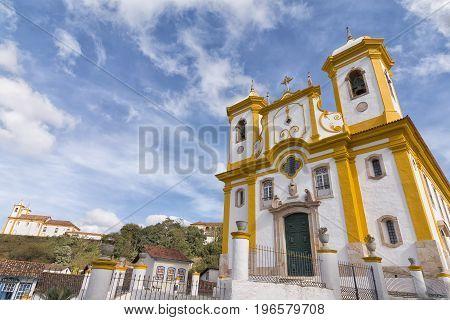Shrine of Our Lady of the Conception of Antonio Dias in Ouro Preto Minas Gerais Brazil