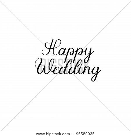 Happy Wedding Vector Photo Free Trial Bigstock