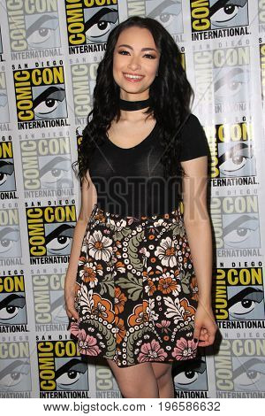 SAN DIEGO - July 20:  Jodelle Ferland at the Comic-Con Day One at the Comic-Con International on July 20, 2017 in San Diego, CA
