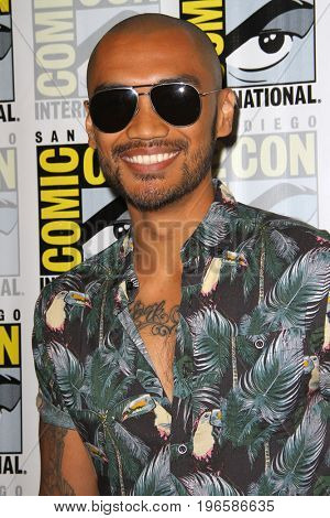 SAN DIEGO - July 20:  Alex Mallari Jr at the Comic-Con Day One at the Comic-Con International on July 20, 2017 in San Diego, CA