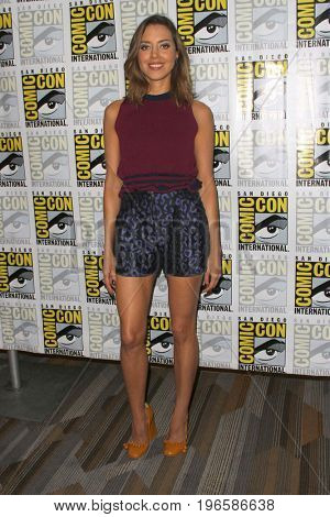 SAN DIEGO - July 20:  Aubrey Plaza at the Comic-Con Day One at the Comic-Con International on July 20, 2017 in San Diego, CA