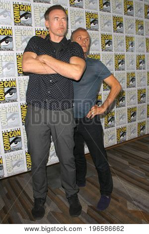 SAN DIEGO - July 20:  Kevin Durand, Richard Sammel at the Comic-Con Day One at the Comic-Con International on July 20, 2017 in San Diego, CA