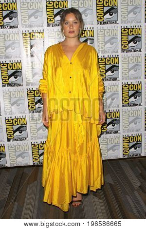 SAN DIEGO - July 20:  Rachel Keller at the Comic-Con Day One at the Comic-Con International on July 20, 2017 in San Diego, CA