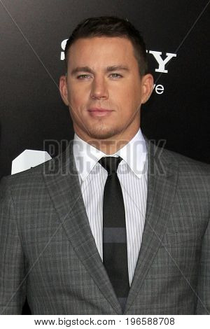 LOS ANGELES - APR 13:  Channing Tatum at the