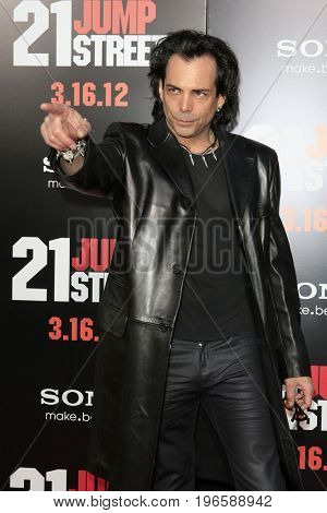 LOS ANGELES - APR 13:  Richard Grieco at the