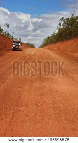 Pennisula Development Road on the way to Weipa