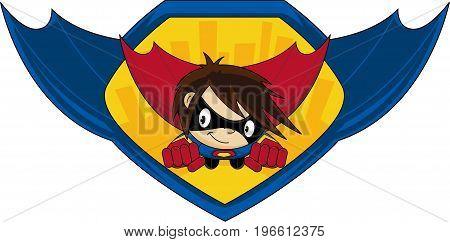 Super Hero Graphic