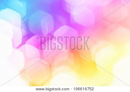 background light soft bokeh, glitter sweet pastel color filter abstract for background.
