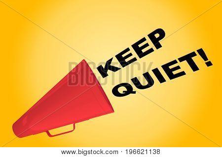 Keep Quiet! Concept