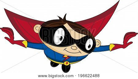 Flying Superhero.eps