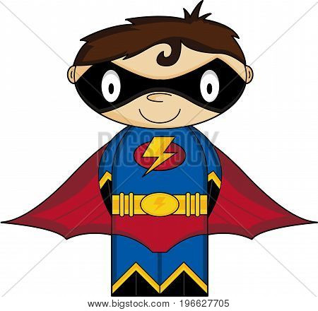 Cute Super Boy