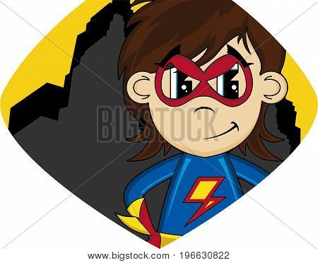 Cartoon Superhero 21