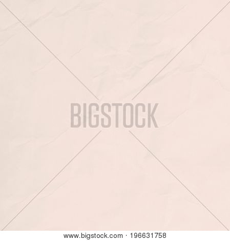 Crumpled light brown paper texture background for business education and communication concept design.