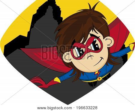 Cartoon Superhero 12