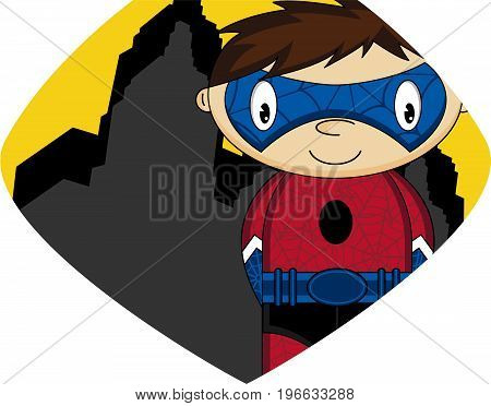 Cartoon Superhero 9