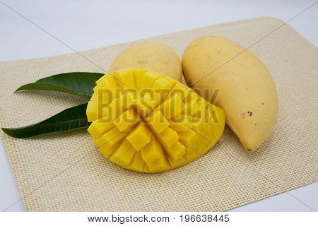 mango young mang fruit thailand eat health