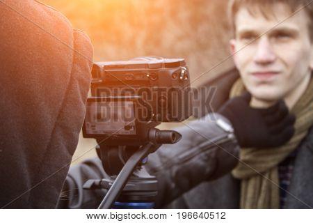 Watchmaker Interview process of filmmaking film crew