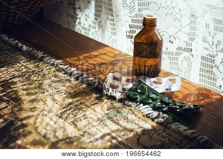 Medications for old woman pills for health