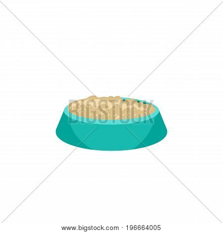 Feeding Vector Element Can Be Used For Bird, Food, Nutrient Design Concept.  Isolated Nutrient Flat Icon.