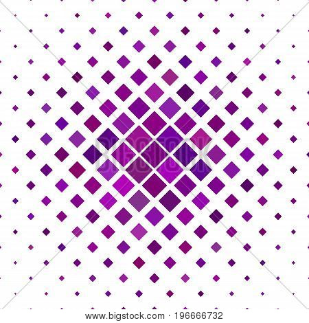 Colored abstract square pattern background - geometric vector illustration from diagonal squares in dark purple tones
