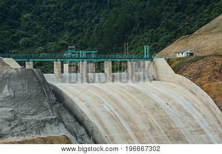 Hydroelectric Dam In Northern Vietnam