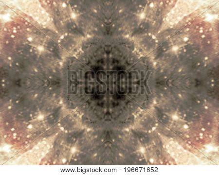Cosmic symmetry abstraction fantasy beautiful stars in space image