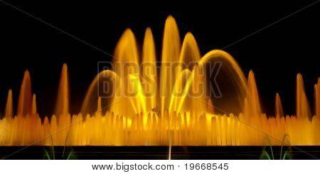 Barcelona Magic Fountain Long Exposure