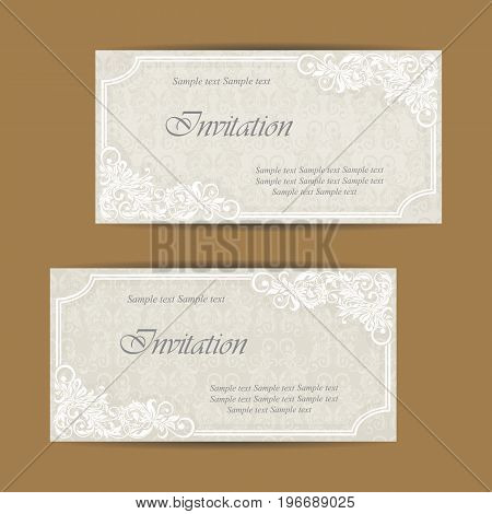 Wedding invitation and save the date cards. Also can be used as greeting cards birthday cards or party invitations.