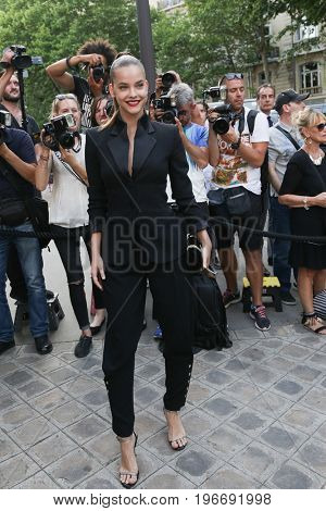 PARIS, FRANCE - JULY 04:  Barbara Palvin attends Vogue Foundation Dinner  as part of Paris Fashion Week  Haute Couture Fall/Winter 2017-2018 July 4, 2017  Paris, France