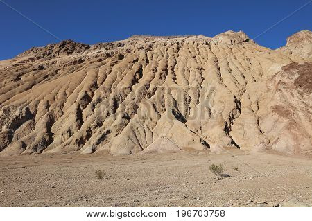 Petrified Dunes in Death Valley. California. USA