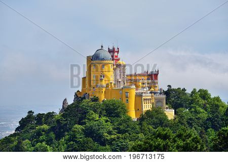 Sintra, Portugal, Pena National Palace