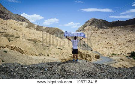 Mountain Scenery In Ladakh, India