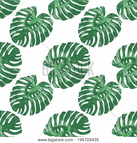 Exotic Tropical Seamless Pattern