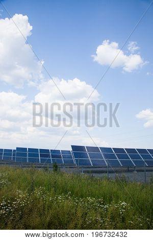 real solar panels
