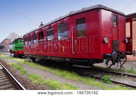 Steam locomotive Brno South Moravia Czech republic