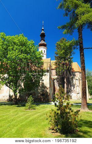 Chapel at Oslavany Castle South Moravia Czech republic