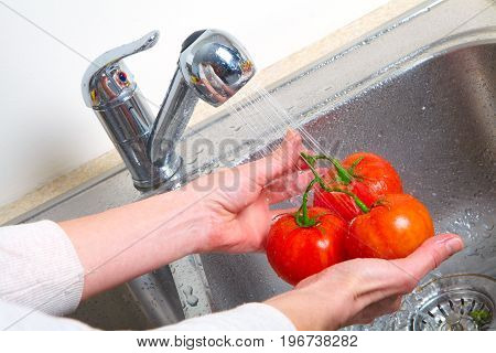 Tomato In The Sink