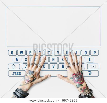 Search keyboard word alphabet finding