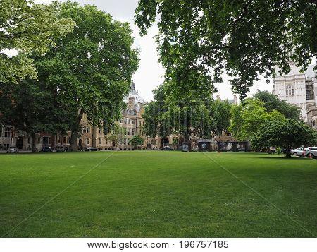 Westminster Abbey Dean Yard In London