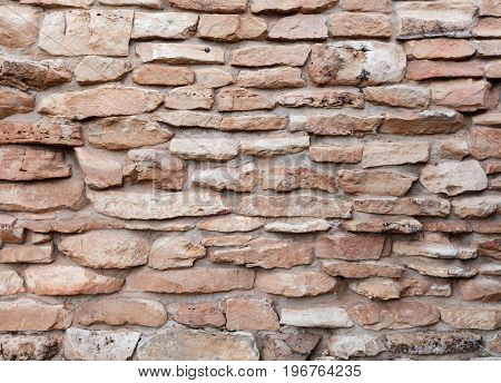 Stone wall texture pattern background for designers